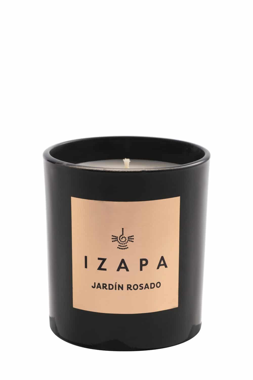 Izapa, Scented Candle, Jardin Rosado